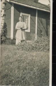Östanfors banvakt 1927