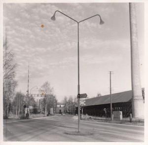 Östanfors banvakt korsning Bjursåsvägen-Trotzgatan