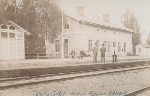 Bergsgården station 1919