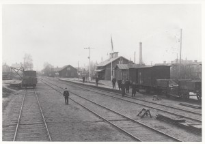 Falun Norra station 1903