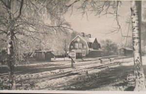 Falun Norra station 1940-tal