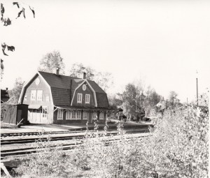 Falun Norra station 1968