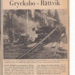 Inga fler tåg Grycksbo - Rättvik FK 1967