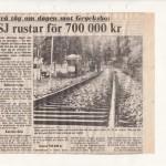 SJ rustar upp för 700000kr DD 1983