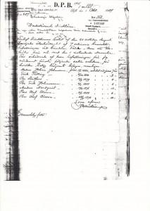 Tillsättning Bv GDJ257 Nr 108 1907