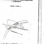 Årby Flytt av väg Kartskiss 1931