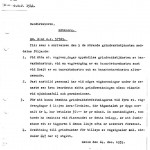 Brev Grindvaktstjänst 1935