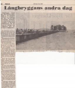 Långbryggan 1990