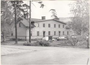 Rättvik Järnvägsgården 1980