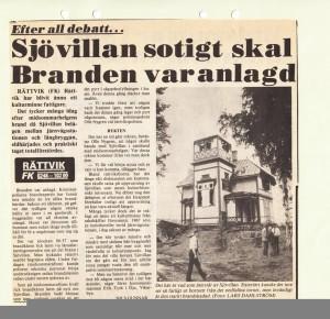 Rättvik Sjövillan 810622