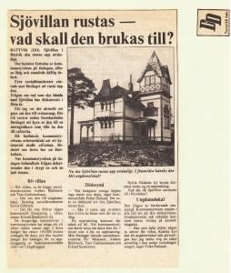 Rättvik Sjövillan DD 810226