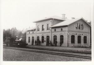 Rättvik Station 1892 Mindre