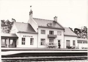 Rättvik Station 1968-10-26