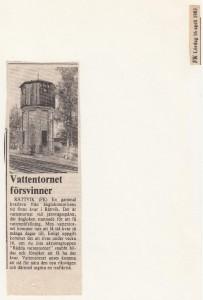 Rättvik Vattentorn FK 830416