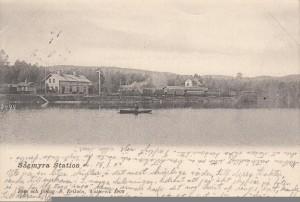 Sågmyra Vykort 1902 postat 1903