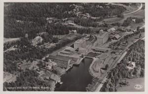 Sågmyra Vykort Flygfoto 1930