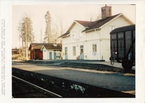 Sågmyra station ca 1960