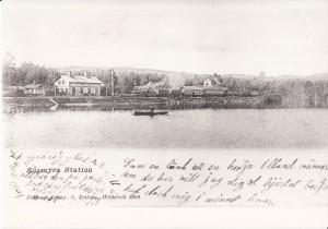 Sågmyra stn Vykort 1902
