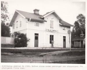 Slättberg Station 1968