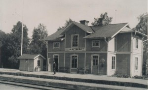 Slättberg Station efter 1934