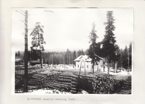Slättberg stn omkring 1940