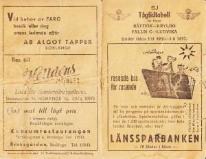 Tågtidtabell 1956-1957_a
