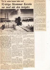 Tio år sedan nedläggning sid 2 FK 1975