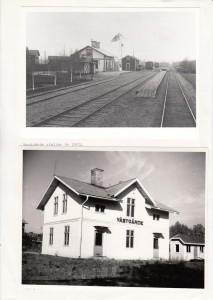 Västgärde stn 1903 samt 1968
